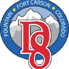 Fountain - Fort Carson School District Eight Logo